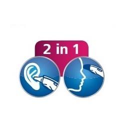 Měření teploty v uchu i na čele