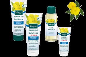 Pečujte o extrémně suchou pokožku se 4 výrobky řady Kneipp® Pupalka.