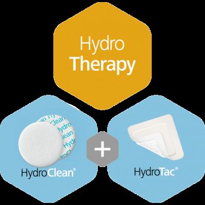 Hydroterapie jako účinná léčba ran